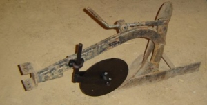 disk coulter plow