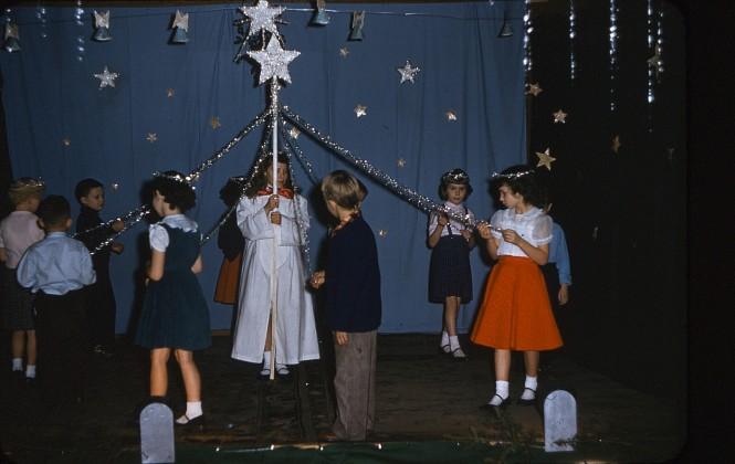 Christmas play at Dayton School