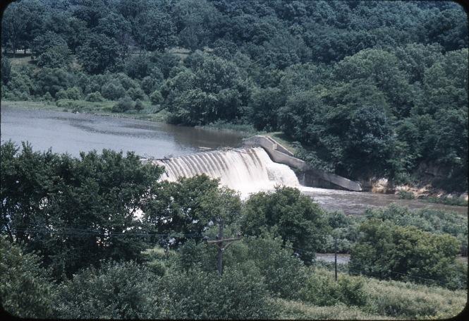 The Dayton dam
