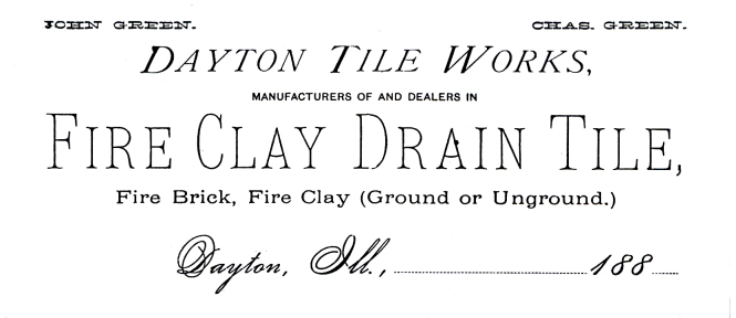 Tile works letterhead