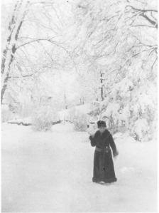 Maud Green in snow
