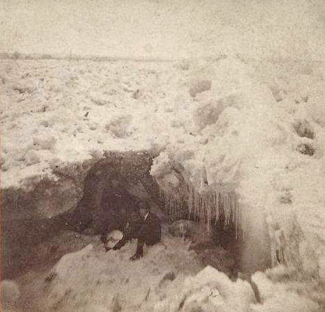 1875 ice gorge picture