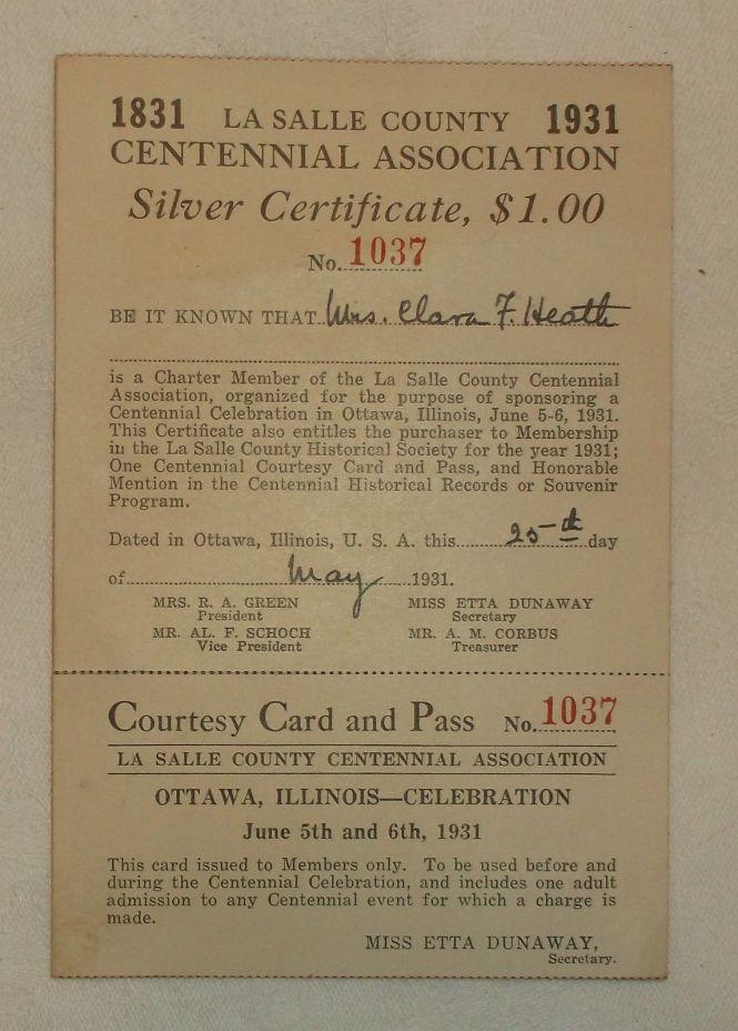 La Salle County centennial