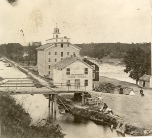 mill, store & feeder bridge