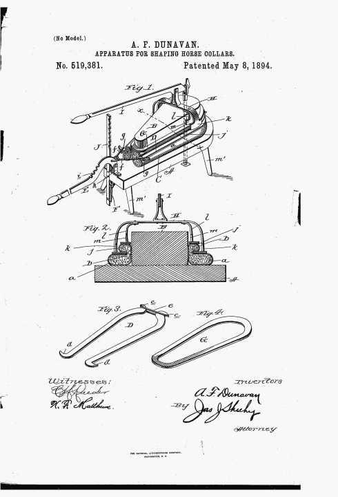 Dunavan, A F - patent