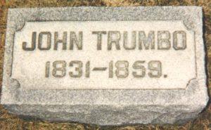 John Trumbo tombstone