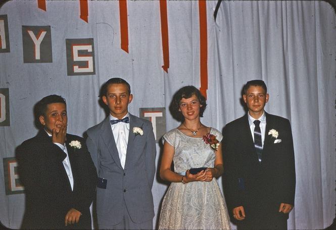 Graduating class 1954-55