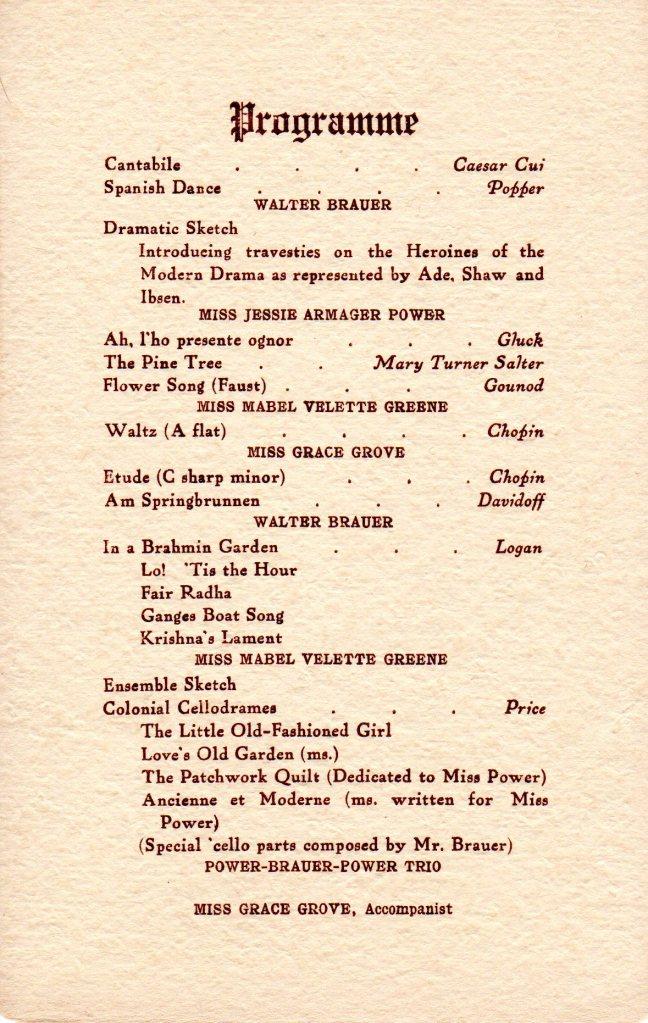 Mabel Greene musical reception