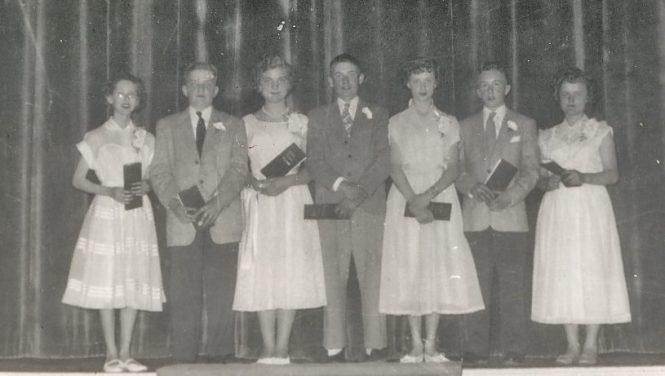 Graduating class 1952